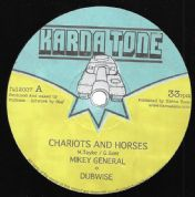 Mikey General - Chariots & Horses / Dubwise / Fullness - Bless Na Curse Riddim (Karna Tone) 12""